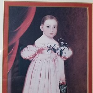 Victorian Child Picture, Vintage